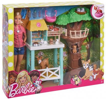 Игровой набор Barbie (Mattel) Спасатель животных mattel mattel игровой набор barbie в движении парк аттракционов