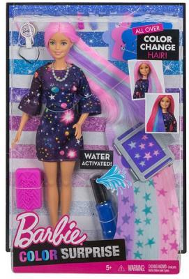"""Игровой набор Barbie (Mattel) """"Цветной сюрприз"""""""
