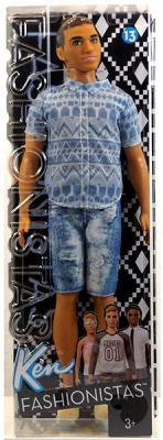 """Кукла Barbie (Mattel) """"Игра с модой"""" - Кен FNJ38"""