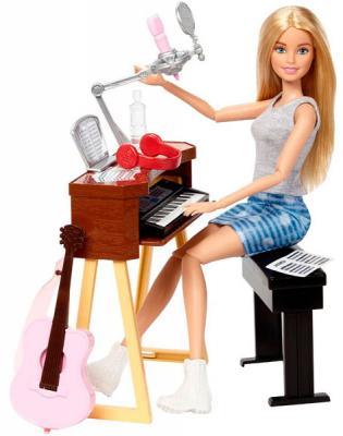 Игровой набор Barbie (Mattel) Музыкант блондинка