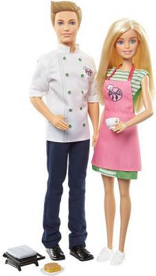 Фото - Игровой набор Barbie (Mattel) Barbie и кен-шеф повар mattel игровой набор barbie crayola сделай моду сам платье футболка и юбка
