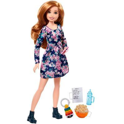 Кукла Barbie (Mattel) Няни FHY90 кукла mattel barbie кукла выпускница fjh66