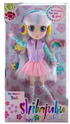 Кукла Shibajuku Girls Сури 33 см HUN6619 цена и фото