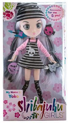 Кукла Shibajuku Girls Йоко 33 см HUN6620 цена