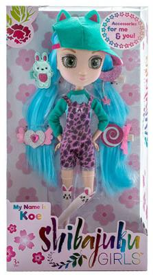 Кукла Shibajuku Girls Кое 33 см HUN6621 цена