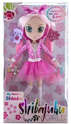 Кукла Shibajuku Girls Шидзуки 33 см HUN6622 цена