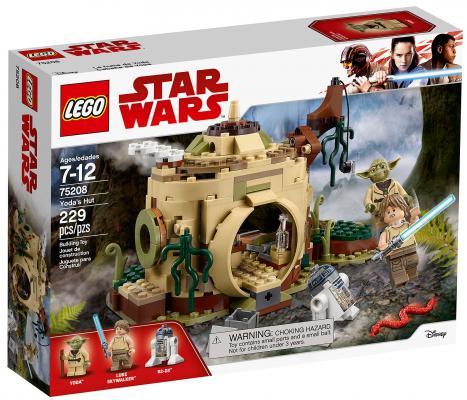 Конструктор LEGO Star Wars: Хижина Йоды 229 элементов