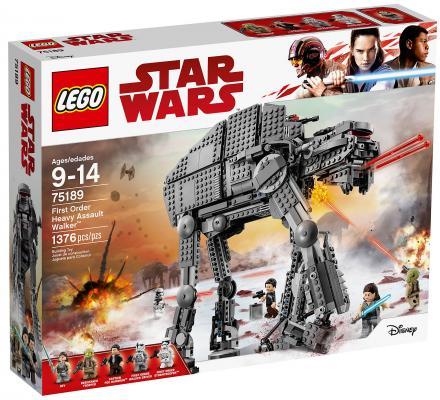 Конструктор LEGO Star Wars: Штурмовой шагоход Первого Ордена 1376 элементов lego star wars конструктор боевой набор специалистов первого ордена 75197