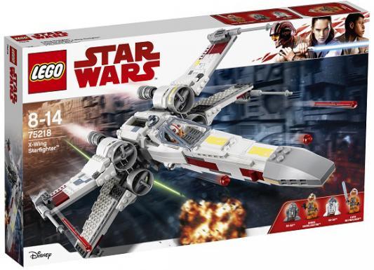 Конструктор LEGO Star Wars: Звёздный истребитель типа Х 731 элемент