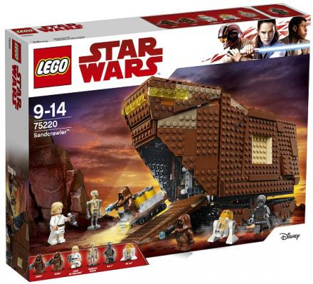 Конструктор LEGO Star Wars: Песчаный краулер 1239 элементов