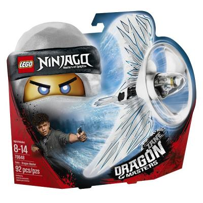 Конструктор LEGO Ninjago: Мастер дракона - Зейн 92 элемента lego lego конструктор lego ninjago 70648 зейн мастер дракона