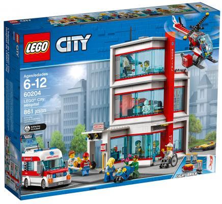 Конструктор LEGO City: Городская больница 861 элемент