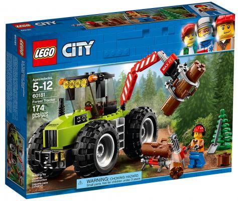 Конструктор LEGO City: Лесной трактор 174 элемента конструктор lego city погоня в горах 303 элемента 60173