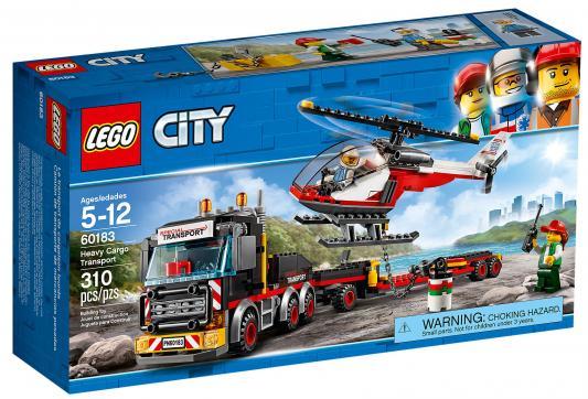 Купить Конструктор LEGO City: Перевозчик вертолета 310 элементов, Конструкторы