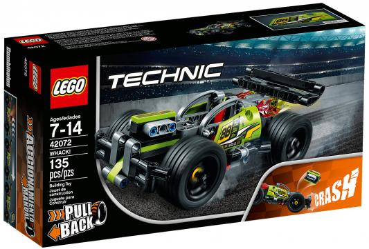 Купить Конструктор LEGO Technic: Зеленый гоночный автомобиль 135 элементов, Конструкторы