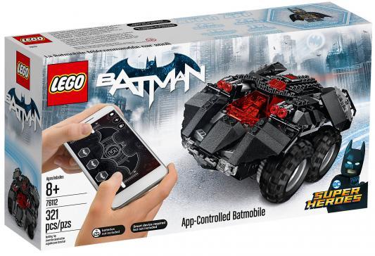 Конструктор LEGO Super Heroes: Бэтмобиль с дистанционным управлением 321 элемент конструктор lego technic скоростной вездеход с дистанционным управлением 42065