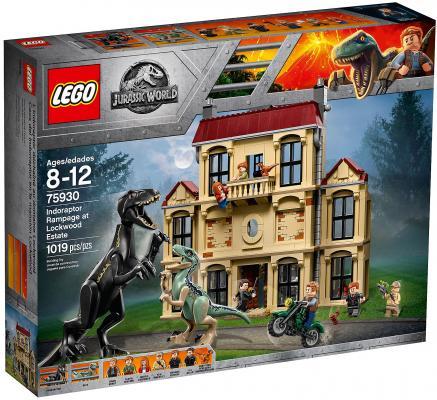 Конструктор LEGO Jurassic World: Нападение индораптора в поместье 1019 элементов lego lego конструктор lego jurassic world 75930 нападение индораптора в поместье локвуд