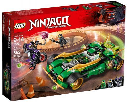 Конструктор LEGO Ninjago: Ночной вездеход ниндзя 552 элемента конструктор lego ninjago механический дракон зеленого ниндзя 70612
