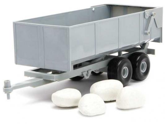 Купить Прицеп Tomy Прицеп-самосвал с камнями серый 43079, Детские модели машинок
