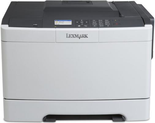 Принтер лазерный Lexmark CS417dn цветной принтер лазерный lexmark ms510dn