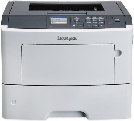Принтер лазерный Lexmark MS617dn монохромный принтер лазерный lexmark монохромный ms421dn