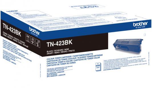 Тонер Brother Тонер-картридж TN-423BK черный (6500 стр.) для HL-L8260CDW, HL-L8360CDW, DCP-L8410CDW, MFC-L8690CDW, MFC-L8900CDW картридж brother tn 4100 черный black 7500 стр для brother hl 6050