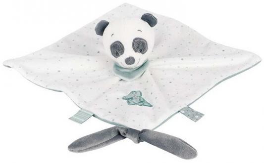 Мягкая игрушка панда Nattou Doudou Loulou, Lea Hippolyte текстиль 28 см