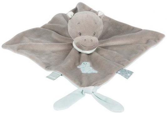 Мягкая игрушка бегемот Nattou Doudou Loulou, Lea Hippolyte текстиль 28 см