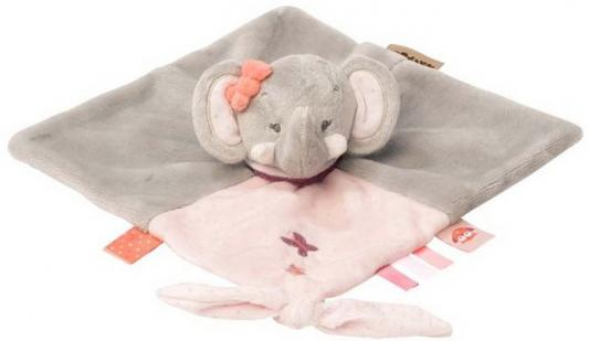 Мягкая игрушка слоник Nattou Doudou Adele Valentine текстиль — игрушка мягкая nattou charlotte rose жираф и слоник 655187