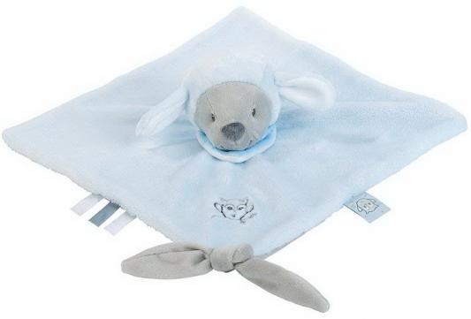 Мягкая игрушка овечка Nattou Doudou Sam Toby текстиль голубой 28 см