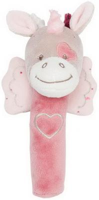 Мягкая игрушка единорог Nattou Nina, Jade Lili Cri-Cris текстиль 17 см игрушка мягкая nattou cri cris наттоу кри крис nina jade