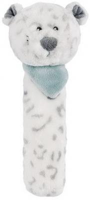 Мягкая игрушка леопард Nattou Loulou, Lea Hippolyte Cri-Cris плюш серый 17 см