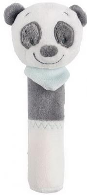 Мягкая игрушка панда Nattou Loulou, Lea Hippolyte Cri-Cris текстиль 17 см
