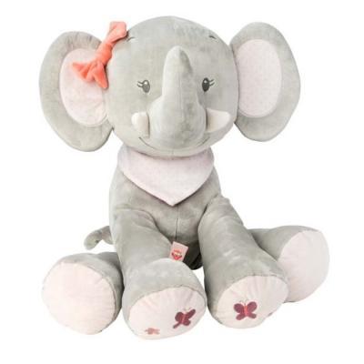 Мягкая игрушка слоник Nattou Слоник полиэстер 75 см мягкая игрушка beanie babies слоник whopper 25 см