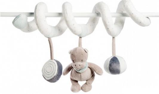 Мягкая игрушка Nattou Loulou, Lea Hippolyte Toy Spiral Панда, Леопард, Бегемот 963299