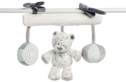 Мягкая игрушка на завязках Nattou Soft Toy Loulou, Lea Hippolyte Панда, Леопард и Бегемот 963305