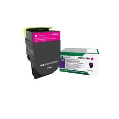 Картридж Lexmark 3500 стр. пурпурный для CS417dn, CS517de, CX417dn, CX517de compatible toner lexmark c930 c935 printer laser use for lexmark refill toner c940 c945 toner bulk toner powder for lexmark x940
