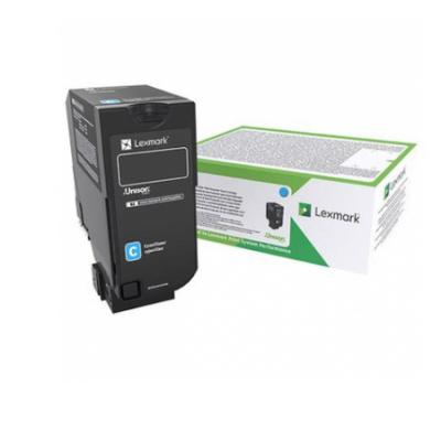 Картридж Lexmark CX725 Cyan High Yield Return Program Toner Corporate Cartridge 1x non oem high capacity toner cartridge compatible for lexmark ms410 ms410de 5000 page