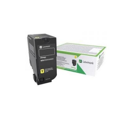 Картридж Lexmark CX725 Yellow High Yield Return Program Toner Corporate Cartridge 1x non oem high capacity toner cartridge compatible for lexmark ms410 ms410de 5000 page