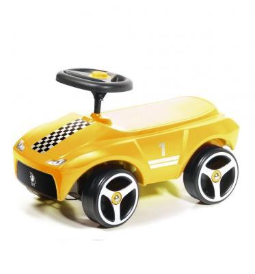 Каталка-машинка Brumee Driftee желтый от 1 года пластик BDRIF-Y200 Yellow каталка на палочке s s toys вертолет желтый от 1 года пластик