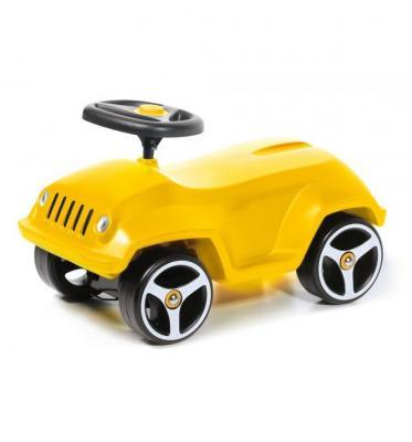 Каталка-машинка Brumee Wildee желтый от 1 года пластик BWILD-Y200 Yellow каталка на палочке s s toys вертолет желтый от 1 года пластик