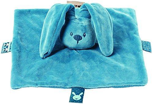 Мягкая игрушка кролик Nattou Doudou Lapidou плюш синий 26 см мягкая игрушка nattou doudou lapidou кролик 878265 anthracite