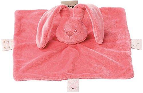 Купить Мягкая игрушка кролик Nattou Lapidou Кролик плюш кораловый 26 см, Животные