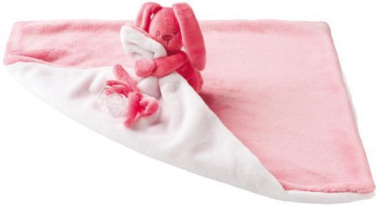 Мягкая игрушка большая Nattou Doudou Lapidou Кролик(878678 Coral/Light Pink)