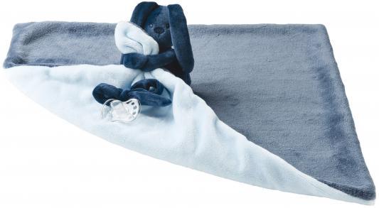 Мягкая игрушка большая Nattou Doudou Lapidou Кролик(878647 Navy Blue/Light Blue)