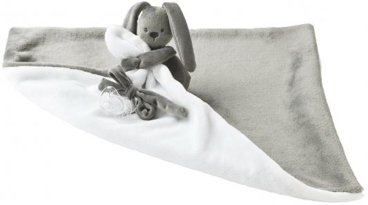 Мягкая игрушка большая Nattou Doudou Lapidou Кролик(878661 Anthracite/White)