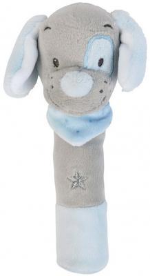 Купить Мягкая игрушка собака Nattou Cri-Cris Sam Toby текстиль 17 см, разноцветный, Животные