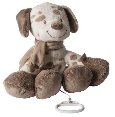 Интерактивная игрушка Nattou Soft Toy Max, Noa & Tom Собачка от 6 месяцев коричневый 777063