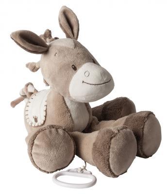 Интерактивная игрушка Nattou Soft Toy Max, Noa & Tom Лошадка от 6 месяцев коричневый 777070