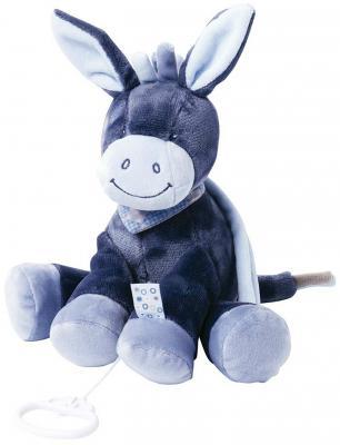 купить Интерактивная игрушка Nattou Soft Toy Alex&Bibou Ослик от 6 месяцев синий 321051 по цене 1830 рублей